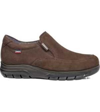 CALLAGHAN 17300 N.val Zapato cordón hombre impermeable nobuck  , marrón