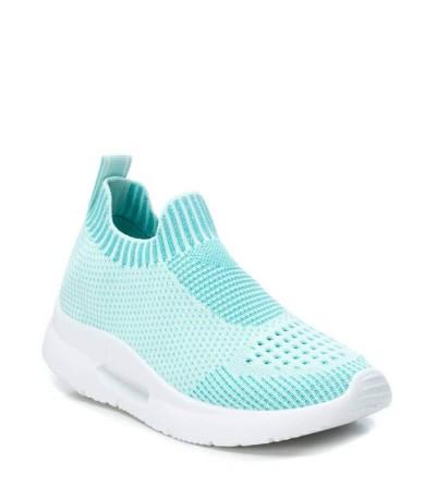 XTI 49823 Zapatillas mujer textil elástico AQUA