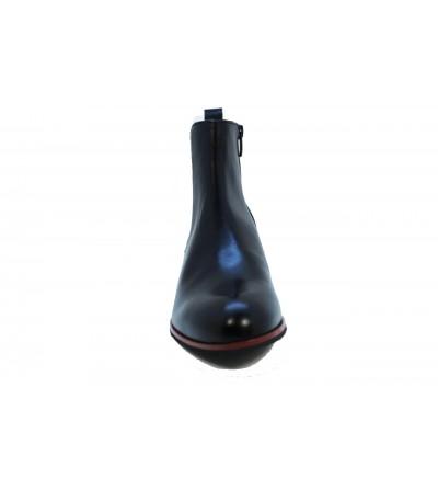 XTI 48361 Botín de agua negro, con elástico