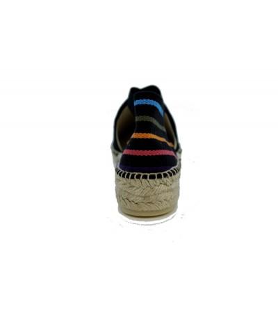 CALLAGHAN 14503 zapato hombre suela adaptación VERDE / TAUPE / GRIS