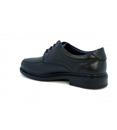 Doctor Cutillas 81186 NEGRO Zapato salón en lycra , ancho especial, con pedrería
