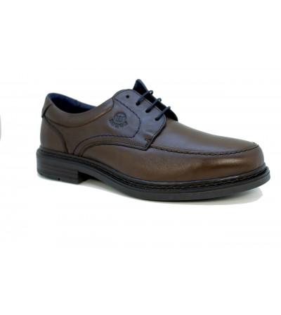 Doctor Cutillas 44517 NEGRO Zapato merceditas en lycra , ancho especial, dibujo metalizado