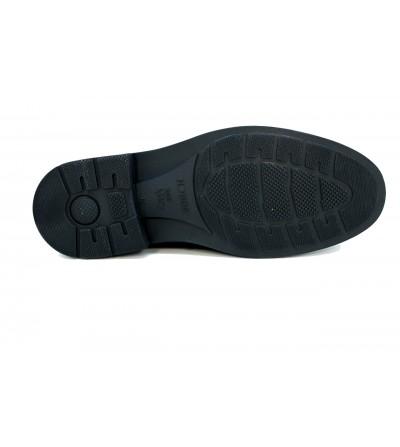 Doctor Cutillas 78103 NEGRO Zapato salón en lycra , ancho especial, cierre hebilla pulsera tobillo