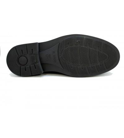 Doctor Cutillas 53824 NEGRO Zapato merceditas en lycra , ancho especial
