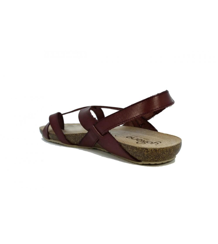 Sandalia PielCuña Y Ajueste Elástico Sandals Baja Oh 4317 My BedCox