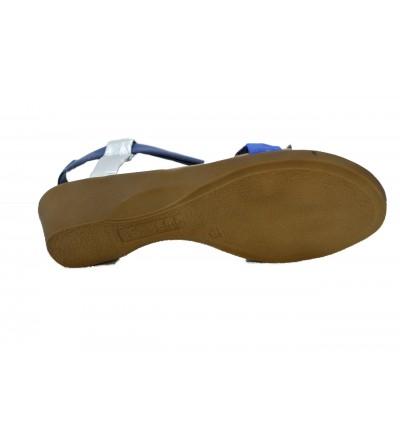 DOCTOR CUTILLAS 41301 Zapato señora , ancho especial con velcro